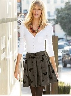 Next bow flock tweed skirt - Fashion Buy of the Day, Marie Claire
