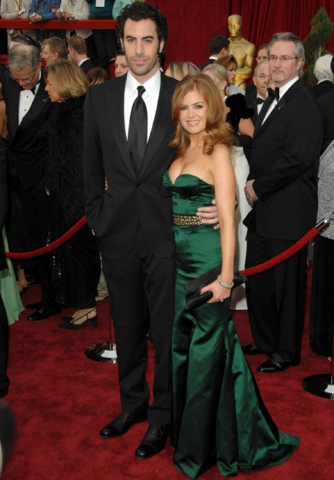 Isla Fisher and Sacha Baron Cohen - Celebrity Weddings of 2010 - Celebrity Weddings - Celebrity - Marie Claire