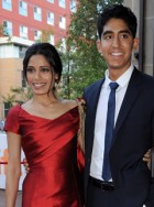 Freida Pinto and Dev Patel make their red carpet return - Toronto Film Festival, TIFF, premiere, Miral, see, pics, pictures, Marie Claire