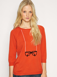 Whistles Intarsia Spectacles jumper - Fashion Buy of the Day - Shopping, daily, pick, style, Marie Claire