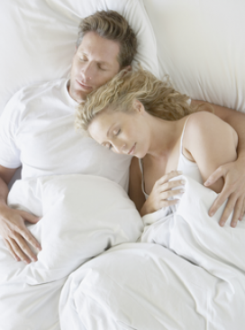 Sleep theatre - couple, bed, sleeping, overnight, rest, relax, love, relationship, features news, Marie Claire