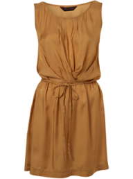 Miss Selfridge ochre pintuck dress - Fashion Buy of the Day, Marie Claire