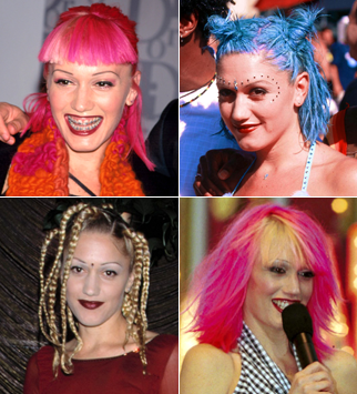 Gwen Stefani - Hair mares - Bad hair, disasters, celebrity, beauty, fashion, style, bad hair days, red carpet, history, transformation, makeover, Marie Claire