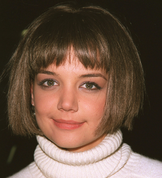 Katie Holmes - Hair mares - Bad hair, disasters, celebrity, beauty, fashion, style, bad hair days, red carpet, history, transformation, makeover, Marie Claire