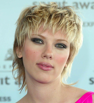 Scarlett Johansson - Hair mares - Bad hair, disasters, celebrity, beauty, fashion, style, bad hair days, red carpet, history, transformation, makeover, Marie Claire