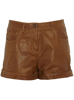 River Island brown leather shorts - Fashion Buy of the Day, Marie Claire
