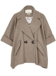 River Island oversized swing coat