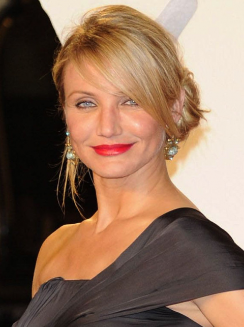 Cameron Diaz - Stars love red lips - Celebrities in red lipstick, wearing, A-list, beauty, hair &amp; beauty, gallery, see, pics, make-up, tips, ideas, inspiration, trend, Marie Claire