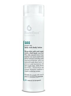 Barefoot Botanicals SOS Protect Me Daily Rich Body Lotion