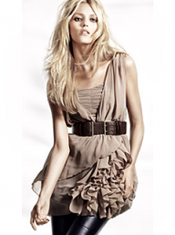 H&M chiffon ruffled dress - Fashion Buy of the Day, Marie Claire