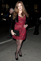 Isla Fisher - BFI London Film Festival - premiere, red carpet, see, style, celebrities, stars, star, fashion, dress, Leicester Square, Marie Claire