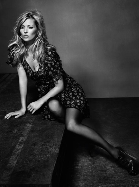 Kate Moss for Topshop Photos