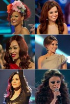X Factor Hair Trends 2010