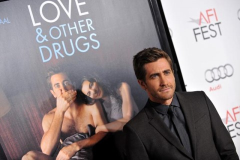 Jake Gyllenhaal at the Love and Other Drugs premiere in LA
