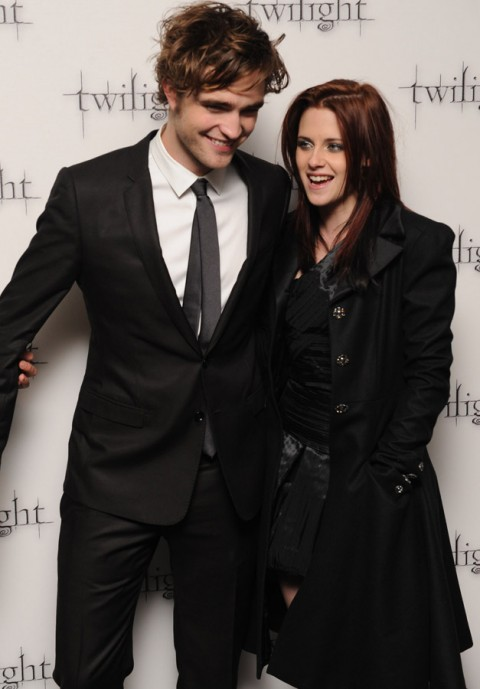Robert Pattinson and Kristen Stewart - Robert Pattinson - Kristen Stewart - Rob Pattinson - Rob and Kristen - Twilight - Breaking Dawn - Celebrity - Marie Claire