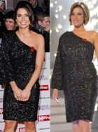 Christine Bleakley and Dannii Minogue in matching Project D dresses