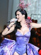 Katy Perry at the 2010 Victoria's Secret catwalk show