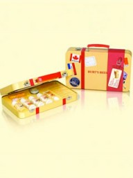 Burt's Bees Holiday Suitcase tin