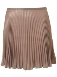 Topshop Premium lurex pleat skirt - Fashion Buy of the Day, Marie Claire