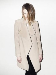 Reiss Bally wrap front coat