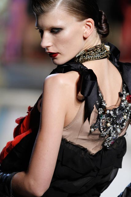 Lanvin for H&M catwalk show
