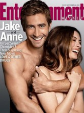 Anne Hathaway and Jake Gyllenhaal - PICS! Anne Hathaway and Jake Gyllenhaal's steamy cover shoot - Love and Other Drugs - Marie claire