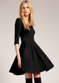 ASOS tailored Ponti fit and flare dress - Fashion Buy of the Day, Marie Claire