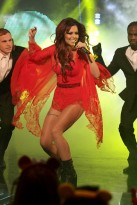 Cheryl Cole performs at Children In Need 2010