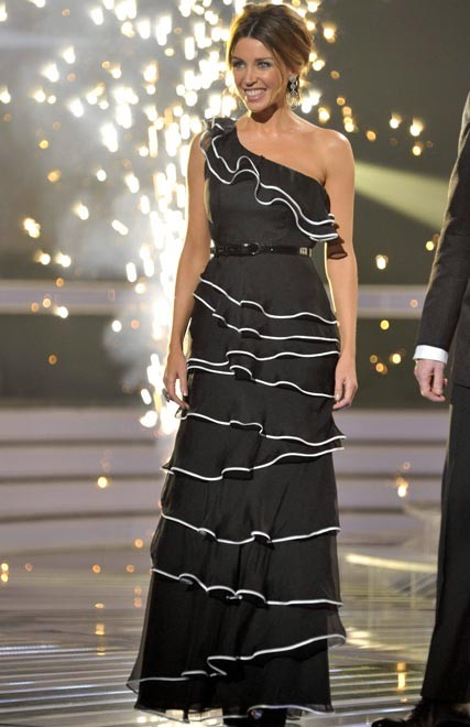 Dannii Minogue - Project D dress on X Factor