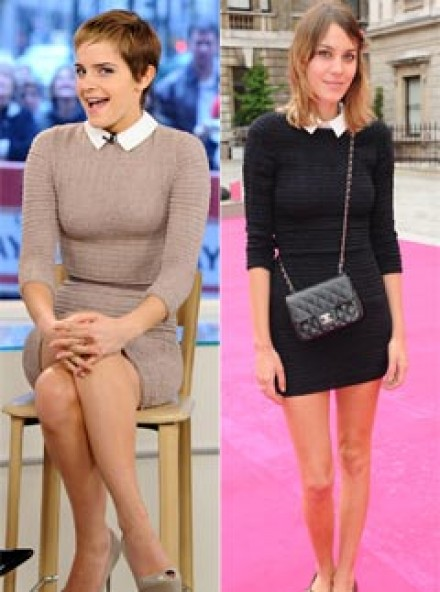 Emma Watson and Alexa Chung - Who wore it best?