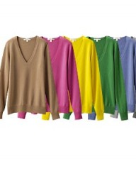 Uniqlo Cashmere V Neck Sweater