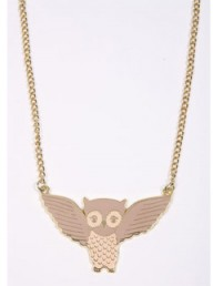 Kate Garey owl necklace - Fashion Buy of the Day, Marie Claire