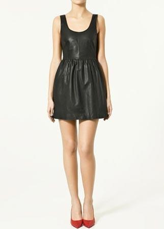Black Dress on 25 Best Little Black Dresses   Lbds   Zara Leather Dress    119   Page