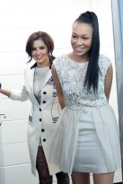 Rebecca Ferguson and Cheryl Cole - X Factor homecoming tour