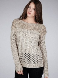 Warehouse mixed-stitch jumper - Fashion Buy of the Day, Marie Claire