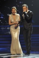 Dannii Minogue and Matt Cardle - X Factor final 2010