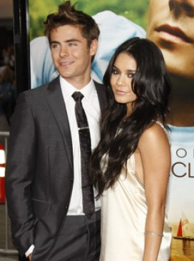 Zac Efron and Vanessa Hudgens - Zac Efron and Vanessa Hudgens split - High School Musical - Zac and Vanessa - Celebrity News - Marie Claire
