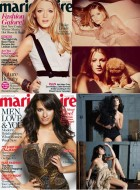 Marie Claire cover girls 2010