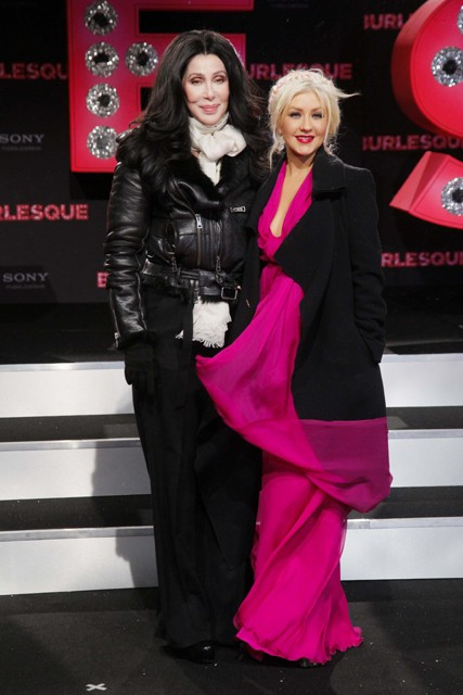Cher and Christina Aguilera - Burlesque film premiere, Berlin, Germany - Marie Claire