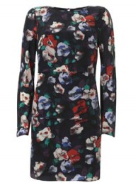 Warehouse zina floral printed dress