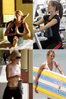 Celebrity workout secrets