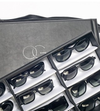 Oliver Goldsmith Bespoke Sunglasses, from £450