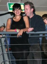 Lily Allen and Sam Cooper engaged