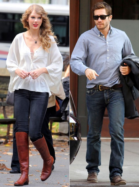 Taylor Swift and Jake Gyllenhaal - Celebrity Splits 2011 - Celebrity - Marie Claire