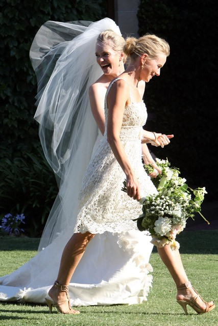 Naomi Watts - Celebrity Wedding guests - bridesmaids, style, fashion, Marie Claire