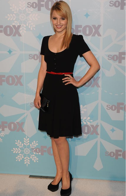 Dianna Agron at the 2011 FOX Winter TCA Party