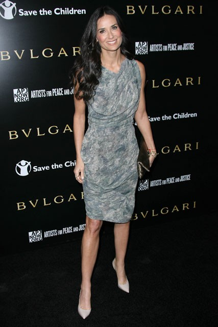 Demi Moore at the Bvlgari Benefit Event, Los Angeles