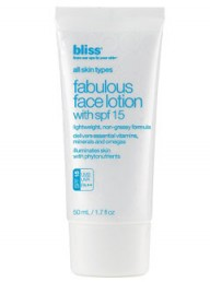 Bliss fabulous face lotion