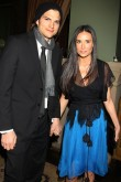 Ashton Kutcher and Demi Moore at the No Strings Attached premiere
