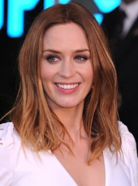 Emily Blunt reveals new lighter blonde hairstyle